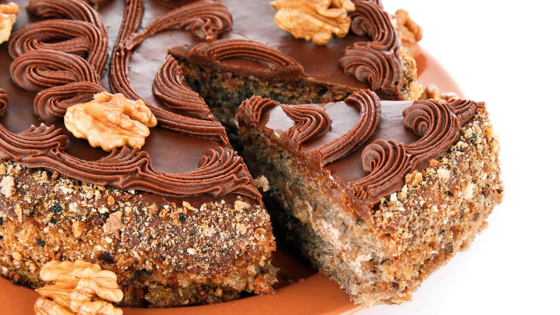 Выпечка шоколадных тортовы