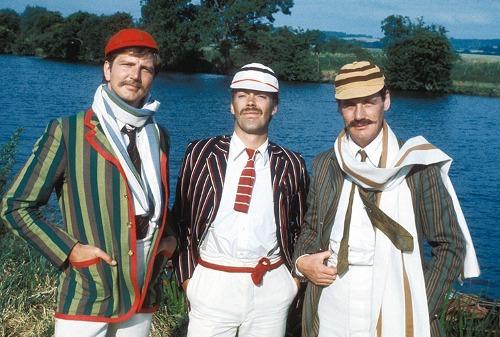 кто написал три мужчины в лодке