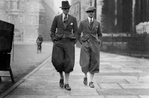 Мужская мода 30 года фото