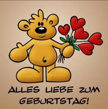 На немецком языке поздравления с днем рождения сына