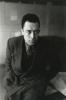 Albert Camus by Henri Cartier-Bresson (1945)