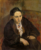 """Пабло Пикассо, """"Портрет Гертруды Стайн"""", 1906 год"""
