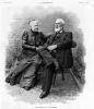 Жюль Верн с супругой