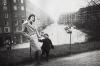 Астрид Линдгрен с сыном Ларсом, Васа-парк, 1930 год