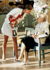 Астрид Линдгрен с шведской принцессой Викторией