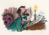 Чарльз Диккенс, портрет художника Квентина Блейка