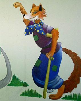 Картинки лиса алиса из сказки буратино