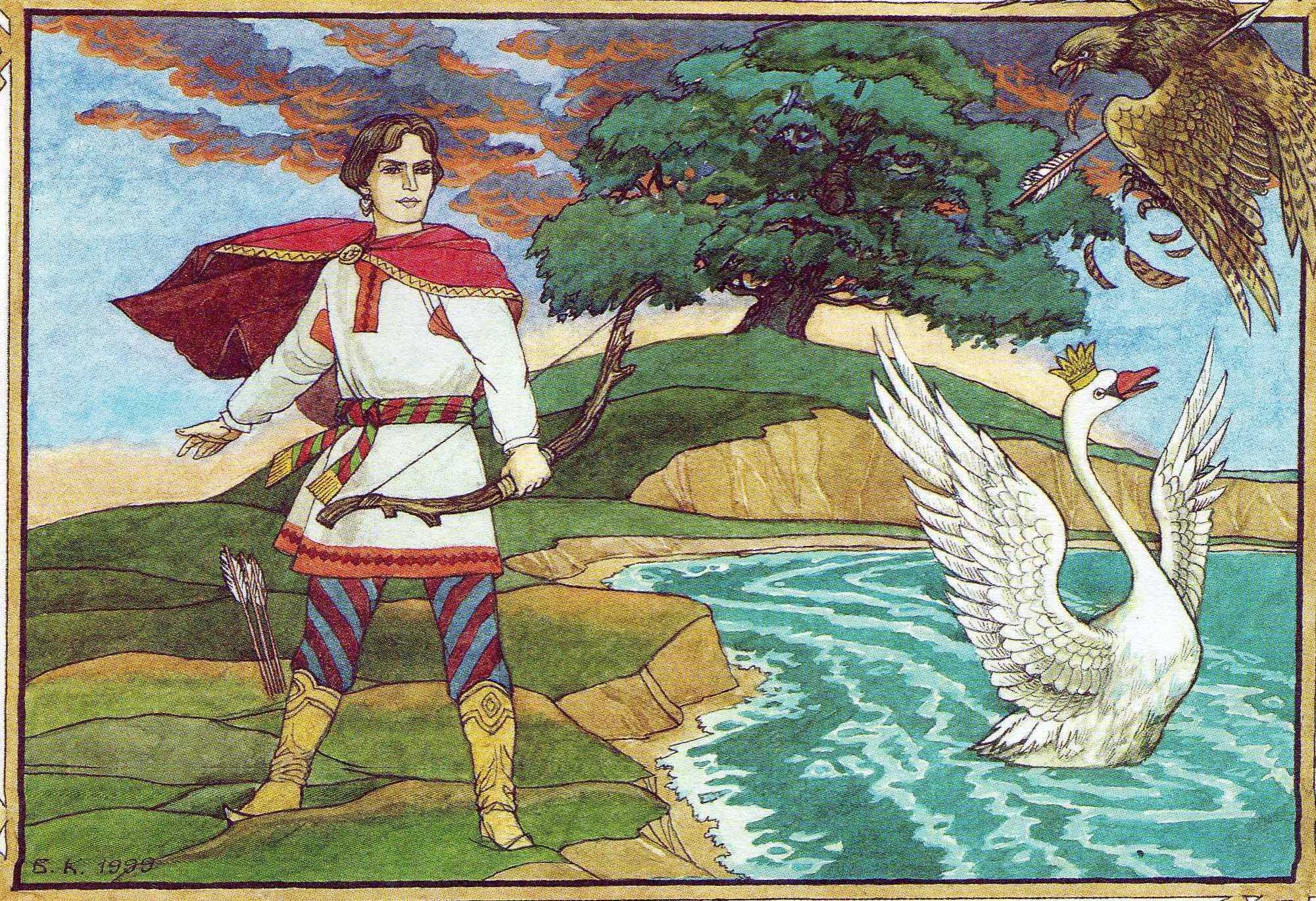 Картинки из сказки царь салтан и его сын гвидон