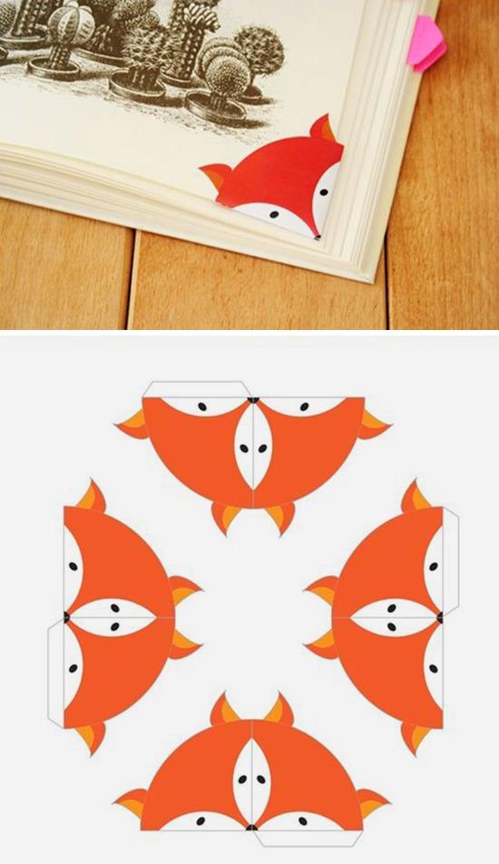 Оригинальные идеи закладкок для книг своим руками Как легко сделать закладку из бумаги быстро