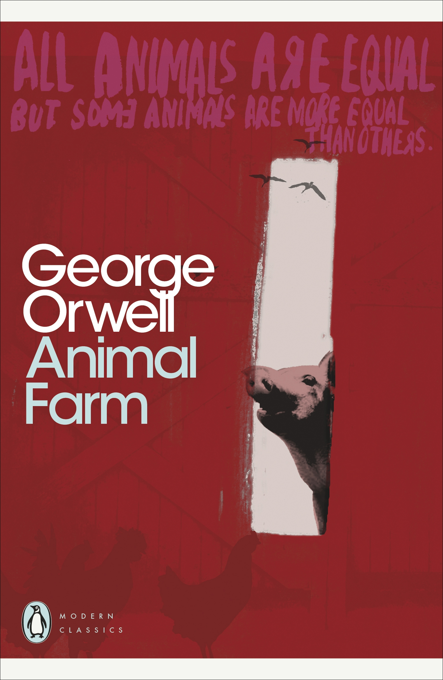 book report on george orwells animal