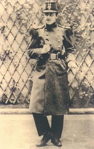 Пруст в армии. 1889 год