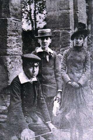 Пруст и Антуанетта Фор (прототип Жильберты) 1884 год