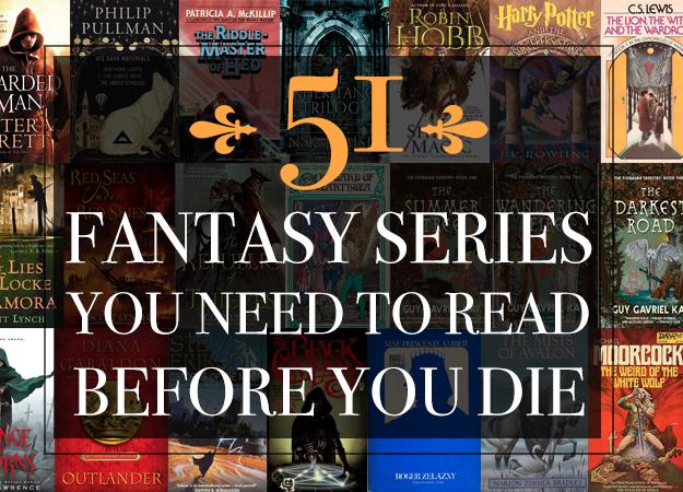 51 цикл книг в жанре фэнтези, который вам непременно нужно прочитать