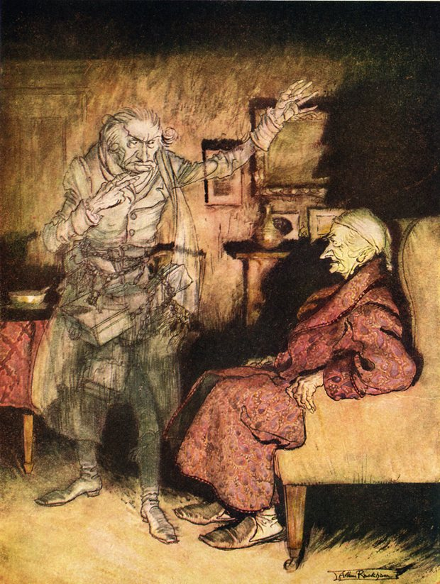 scrooge in charles dickens s a christmas