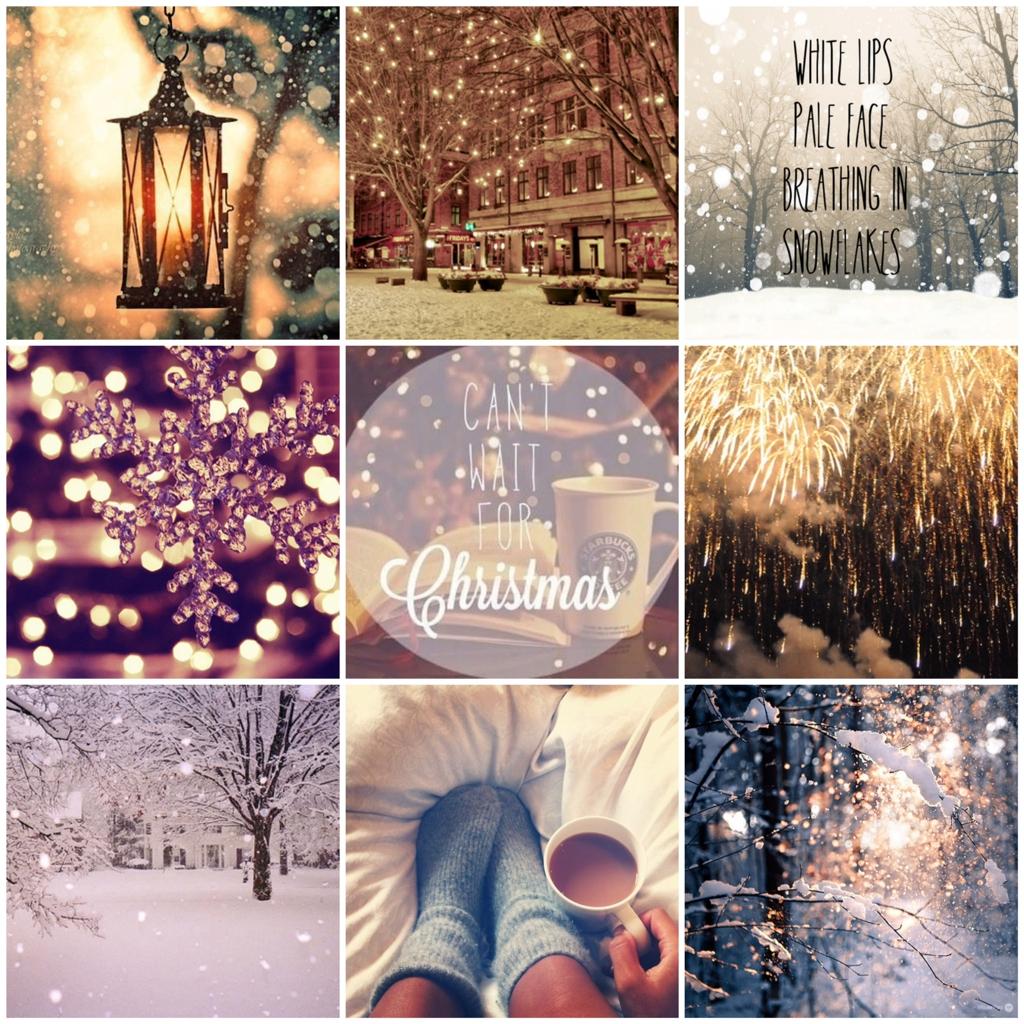 Картинка первый день зимы в инст