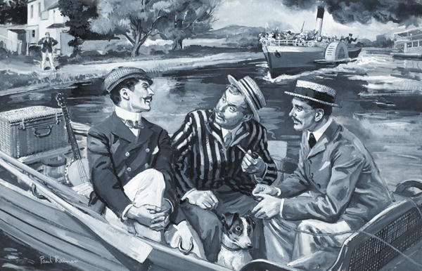 three men in a boat chapter wise analysis