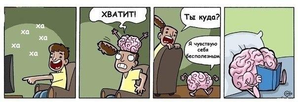 картинки про мозги смешные