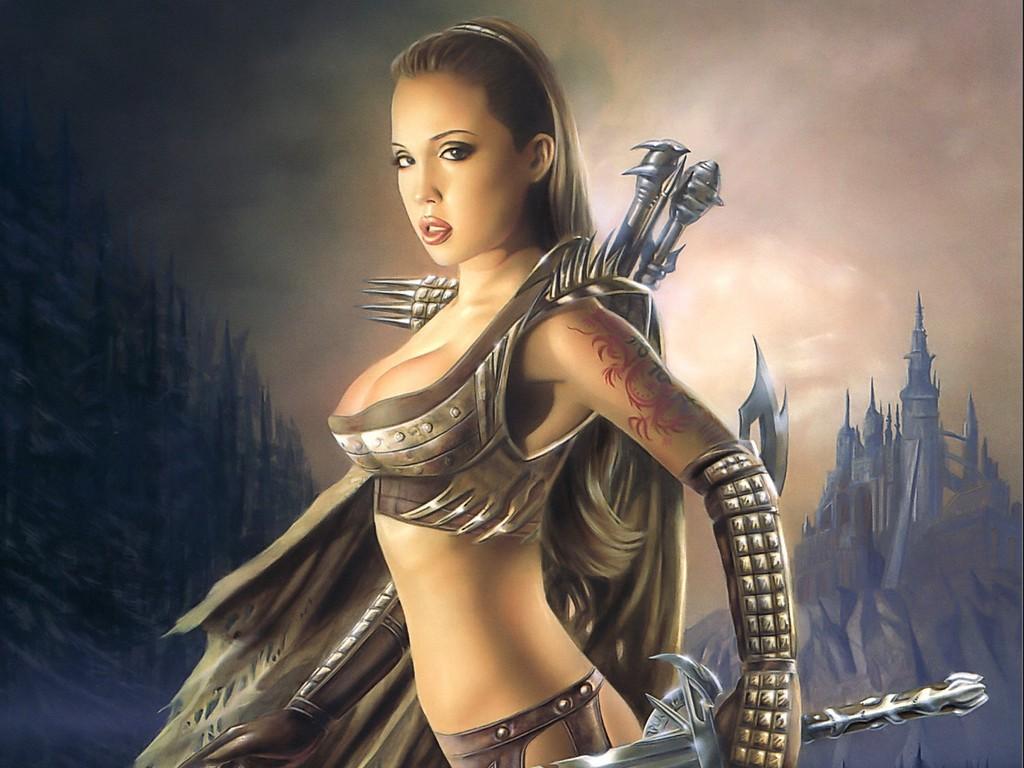 Сексуальная воительница