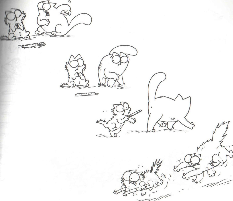 Картинки котика саймона