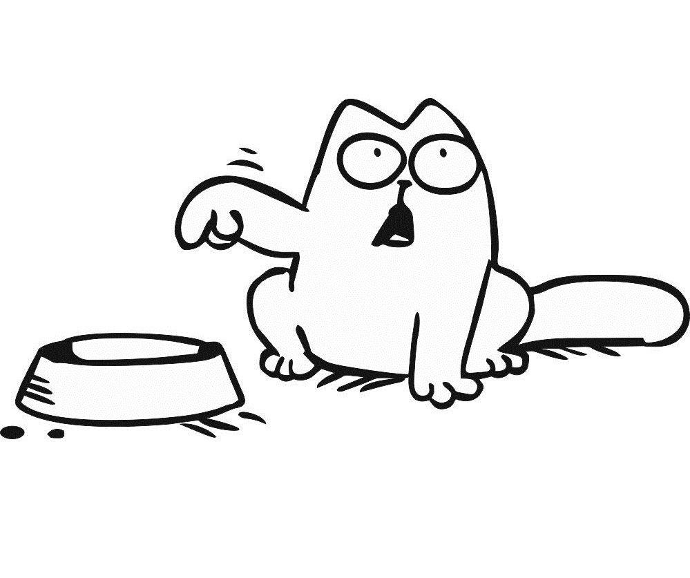 чего кот саймона картинки с надписью всё так идеально