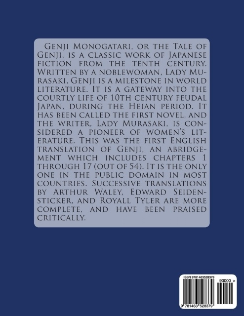 an analysis of genji monogatari the greatest single work in japanese literature