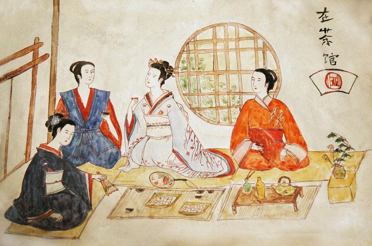 эротика японки показывают обнаженные тела на показ