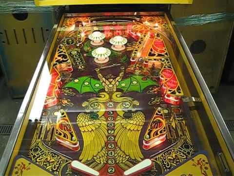 пинбол игровой автомат