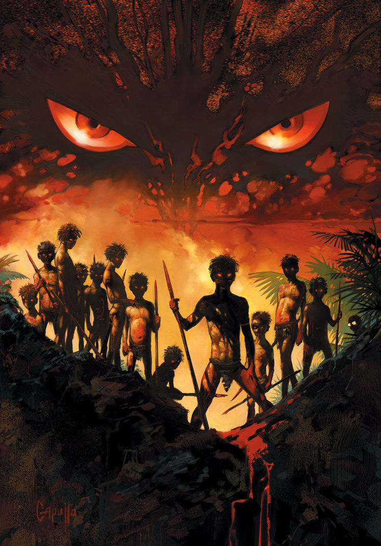 an analysis of william golding using a group of boys stranded on a tropical island to illustrate the The novel of the lord of the flies by william golding takes place on a island in the pacificthese british schoolboys are stranded on a deserted island with no adults this island is tropical and.