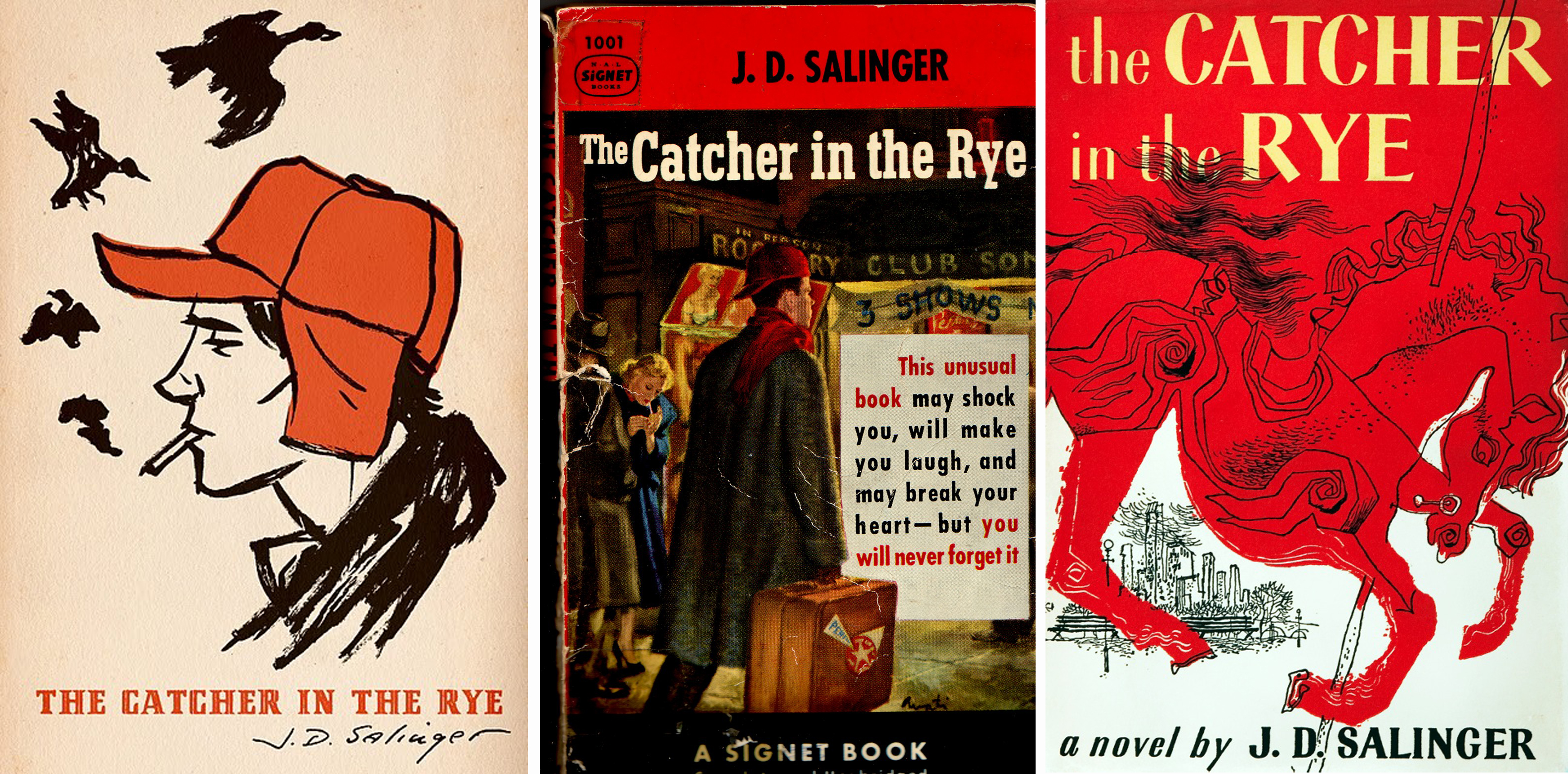 "the theme of trapped characters in the catcher in the rye by j d salinger Revered for ""the catcher in the rye"" and the glass family, j d salinger remains his novel ""the catcher in the rye his best character and."