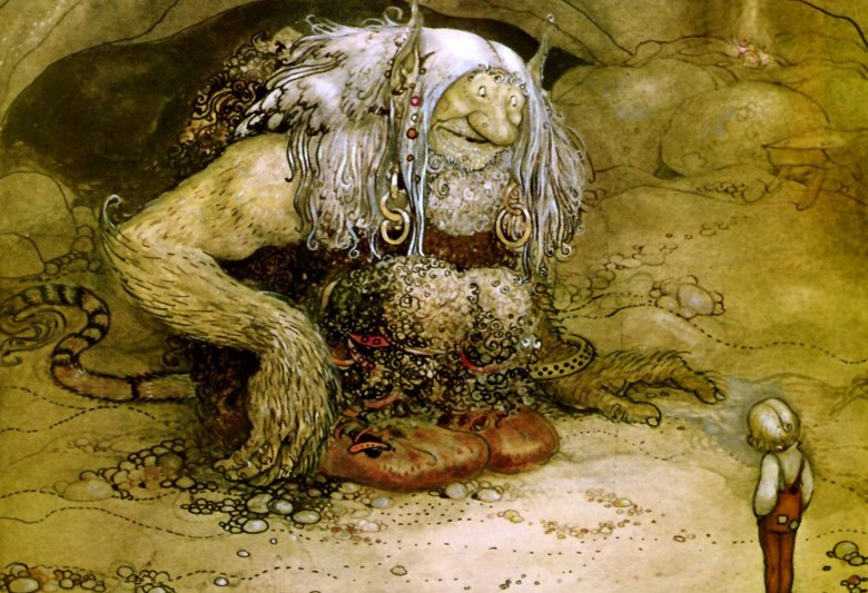 an analysis of the modern interpretation of trolls and traditional folklore in troll hunter directed Some thoughts on the supernatural, the fantastic and the paranormal in medieval and modern literature.
