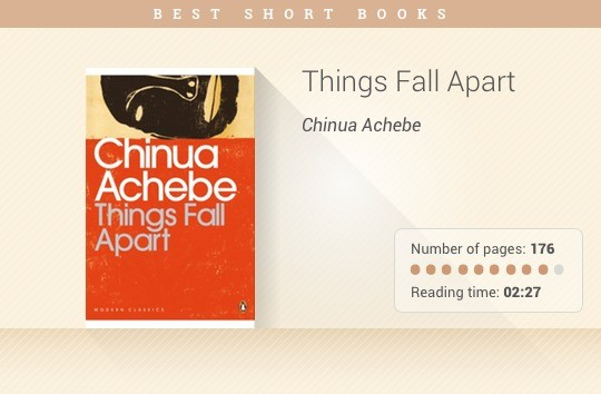 things fall apart by chinua achebe 5 essay