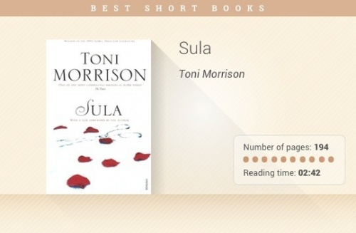 sula tonimorrison essay In this essay, two books namely sula by toni morrison and the education of little tree by forrest carter will be analyzed the two controversial books recount their stories that revolve around good and evil in sula, there are two.