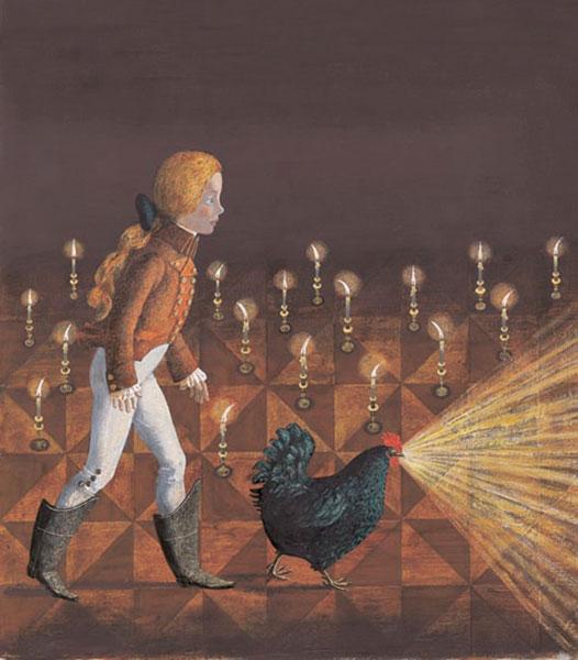 Сказка черная курица