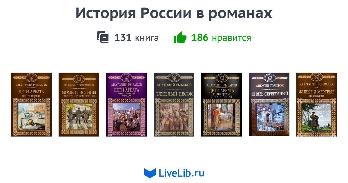 Подборка книг «История России в романах